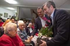Cumpleaños Sra. 100 años HOGAR VIRGEN PODEROSA