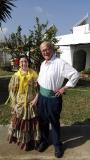 Dia de Andalucia con el Padre Sergio