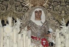 SEVILLA. 29.03.13.  LOS PASOS DE LA HERMANDAD DE LA ESPERANZA DE TRIANA EN LA CATEDRAL. FOTO: JUAN FLORES. archsev. JUAN FLORES